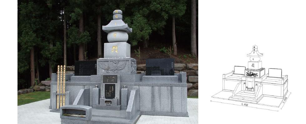 実例No.14 塔型 永代供養墓