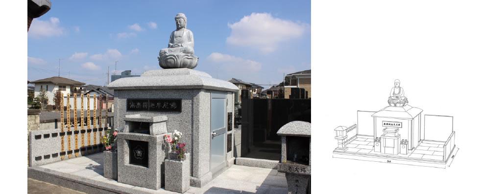 実例No.18 像型 仏舎利塔
