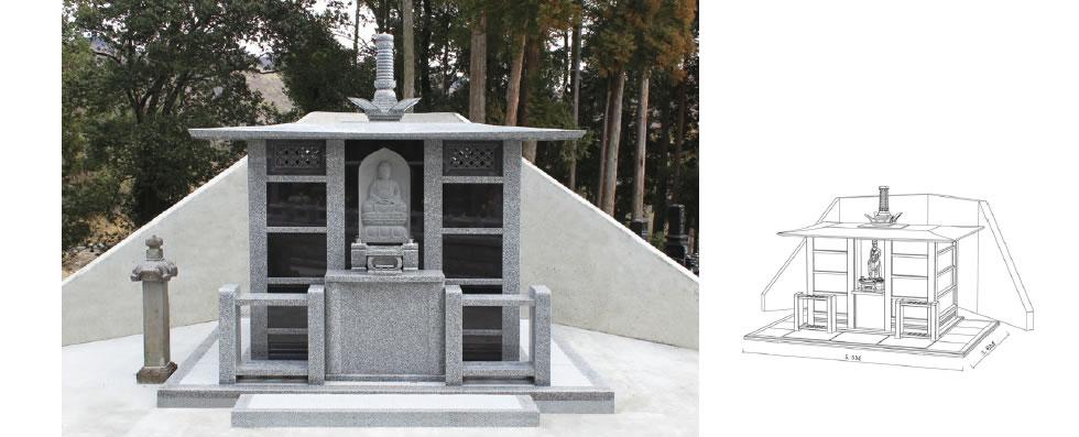 実例No.8 霊廟型 永代供養墓