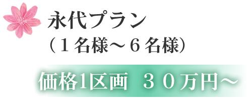 オリーブ永代プラン (1名様~6名様) 価格1区画 30万円~